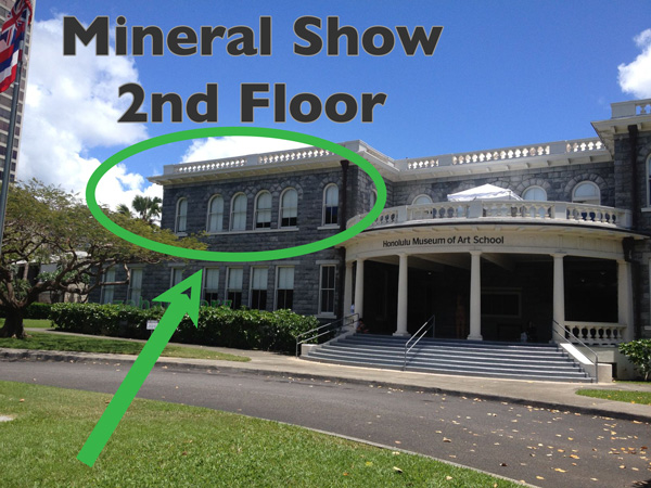 Hawaii Gem and Mineral Show 2017 Honolulu Museum of Art School Building